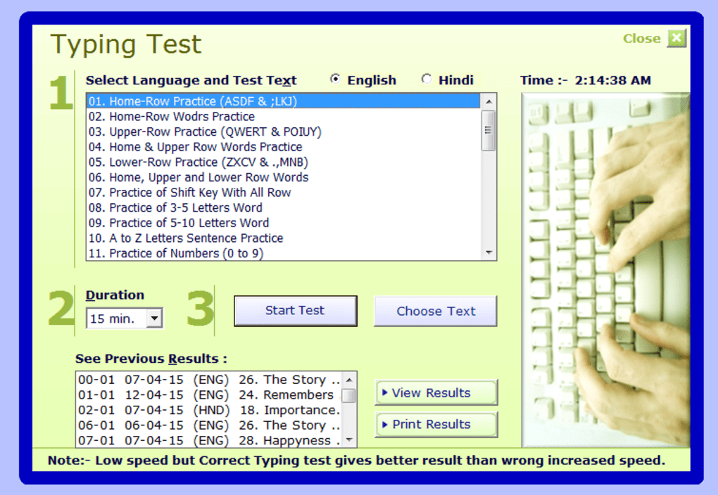 India typing test mangal, Online typing test, Advance India typing test in english, English typing test, India typing test certificate, India typing download, India typing tutor, cpct hindi typing test 2019,