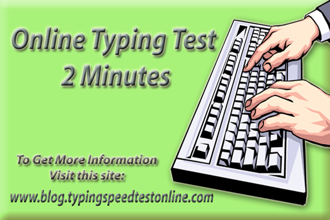 Online Typing Test 2 Minutes