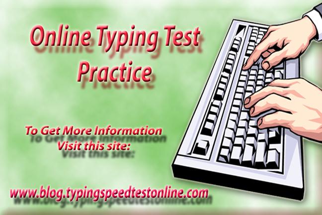 Online Typing Test Practice
