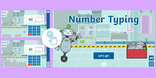 Numerical Typing Test